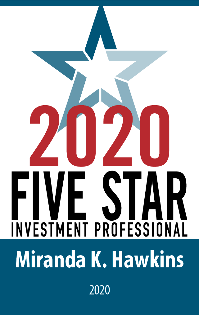 Logo: 2020 Five Star Investment Professional